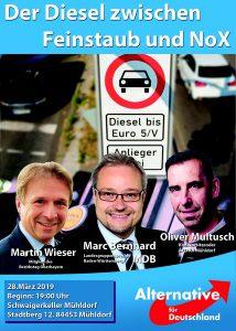 Der Diesel zwischen Feinstaub und NoX @ Gasthof Schwaigerkeller | Mühldorf am Inn | Bayern | Deutschland